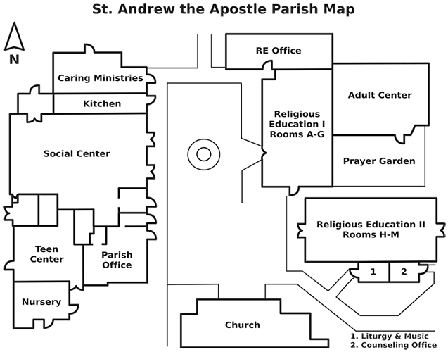 Campus & Location - Saint Andrew the Apostle Catholic Church ... on chandler oklahoma map, chandler tx, alamogordo nm map, chandler minnesota, chandler mall directory of stores, chandler fashion square map, maricopa county schools map, albuquerque nm map, chandler schools map, chandler subdivision map, chandler fashion center map, chandler zip code area map, chandler map of area, chandler mn map, chandler arizona, chandler city map, chandler zoning map, chandler apartments, intel chandler campus map, chandler pa map,